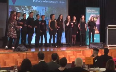 A capella group 'Minitonic'